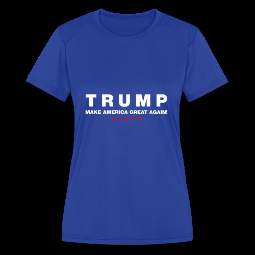 Official Trump 2016 - Women's Moisture Wicking Performance T-Shirt