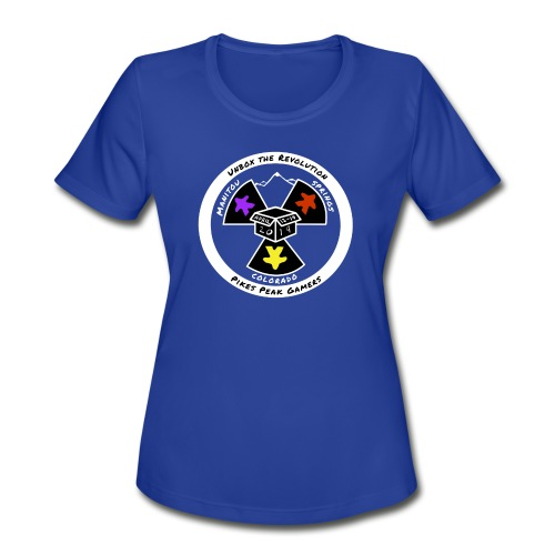 Pikes Peak Gamers Convention 2019 - Clothing - Women's Moisture Wicking Performance T-Shirt