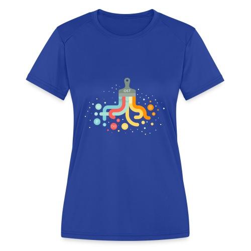 OST design - Women's Moisture Wicking Performance T-Shirt