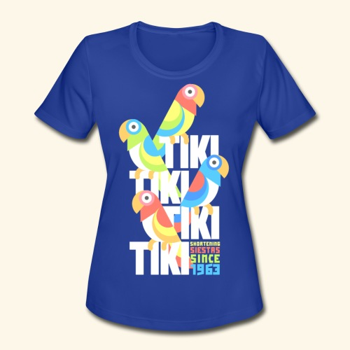 Tiki Room - Women's Moisture Wicking Performance T-Shirt