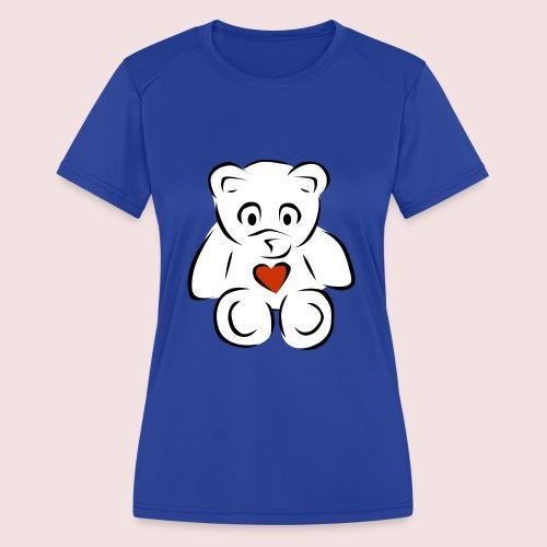 Sweethear - Women's Moisture Wicking Performance T-Shirt