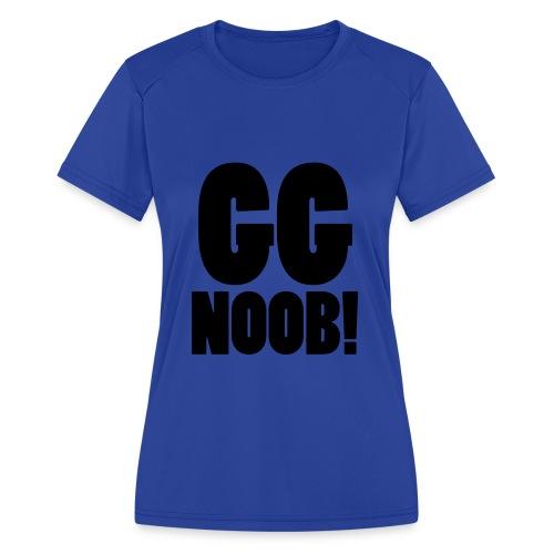 GG Noob - Women's Moisture Wicking Performance T-Shirt