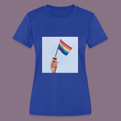 lgbt - Women's Moisture Wicking Performance T-Shirt