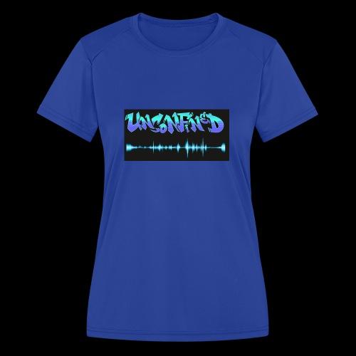 unconfined design1 - Women's Moisture Wicking Performance T-Shirt