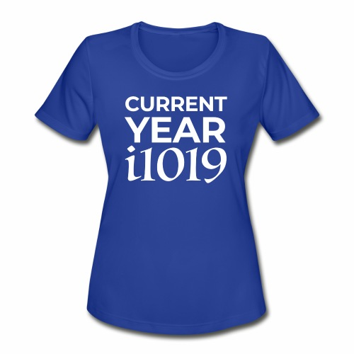 Current Year i1019 - Women's Moisture Wicking Performance T-Shirt