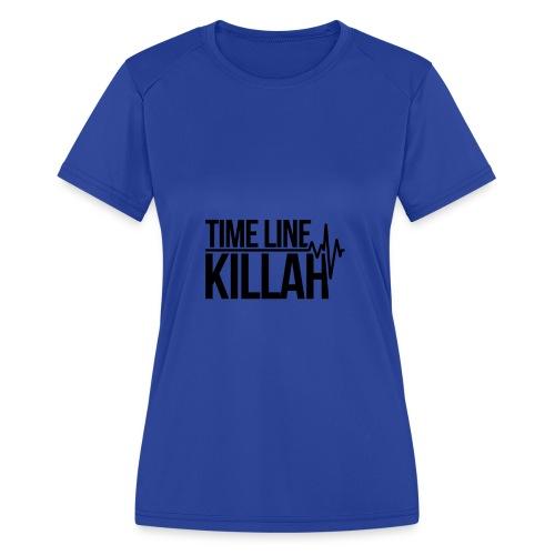 Timeline Killah - Women's Moisture Wicking Performance T-Shirt