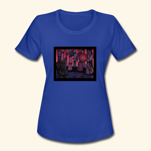 Up River - Women's Moisture Wicking Performance T-Shirt