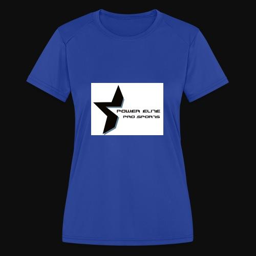 Star of the Power Elite - Women's Moisture Wicking Performance T-Shirt