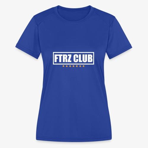 Ftrz Club Box Logo - Women's Moisture Wicking Performance T-Shirt