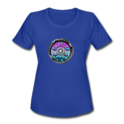 Charlie Brown Logo - Women's Moisture Wicking Performance T-Shirt