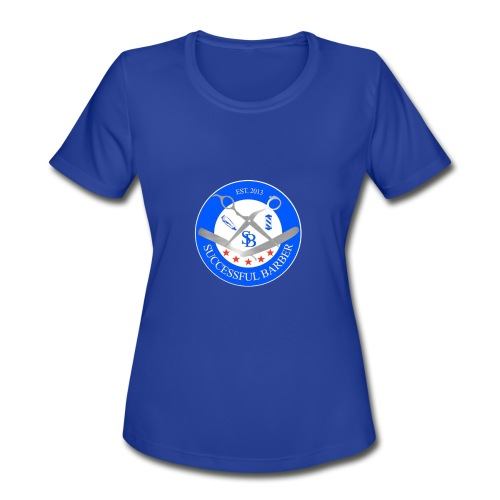 Successful Barber Seal - Women's Moisture Wicking Performance T-Shirt