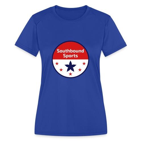 Southbound Sports Round Logo - Women's Moisture Wicking Performance T-Shirt