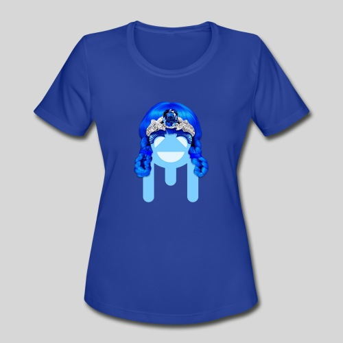 ALIENS WITH WIGS - #TeamMu - Women's Moisture Wicking Performance T-Shirt
