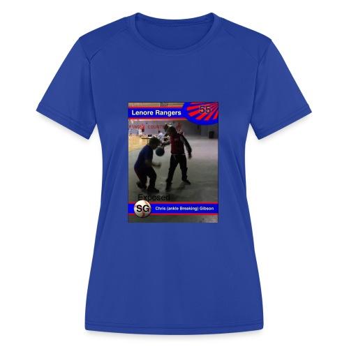 Basketball merch - Women's Moisture Wicking Performance T-Shirt