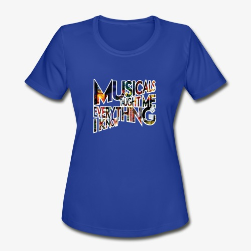 MTMEIK Broadway - Women's Moisture Wicking Performance T-Shirt