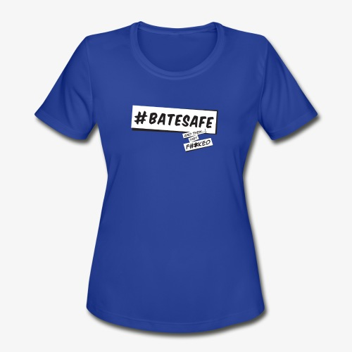 ATTF BATESAFE - Women's Moisture Wicking Performance T-Shirt
