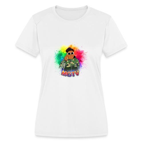 NEW MGTV Clout Shirts - Women's Moisture Wicking Performance T-Shirt