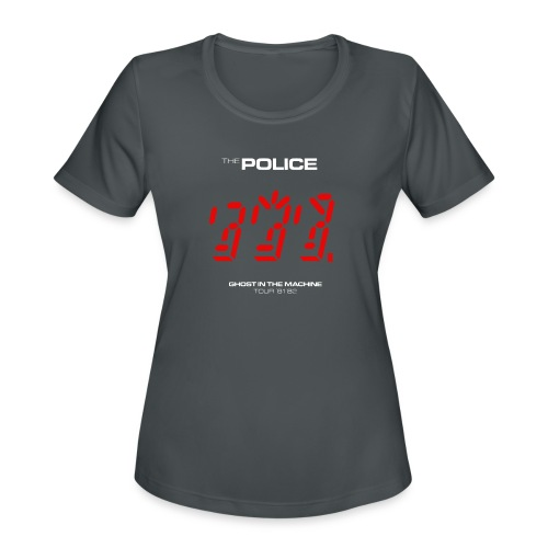 Ghost in the Machine - Women's Moisture Wicking Performance T-Shirt
