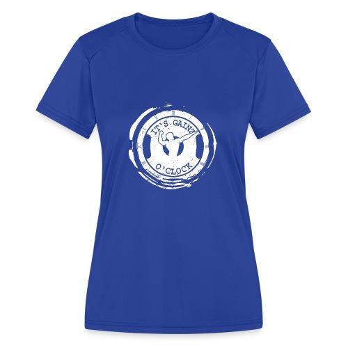 It's Gainz O'Clock - Women's Moisture Wicking Performance T-Shirt