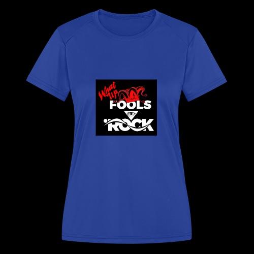 Fool design - Women's Moisture Wicking Performance T-Shirt