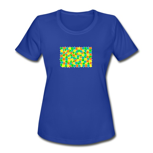 Dynamic movement - Women's Moisture Wicking Performance T-Shirt