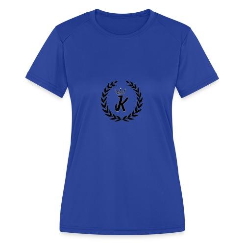 KVNGZ APPAREL - Women's Moisture Wicking Performance T-Shirt