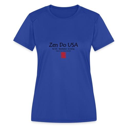 Zen Do USA - Women's Moisture Wicking Performance T-Shirt