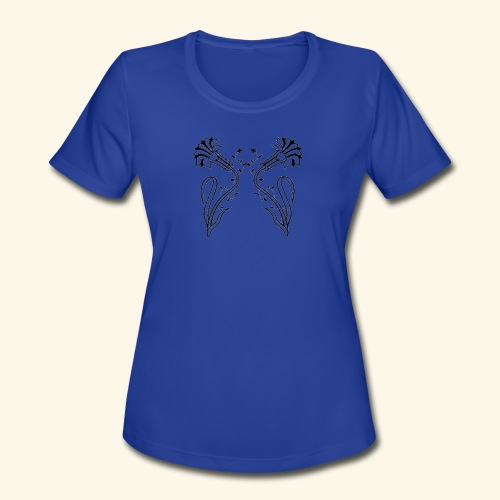 Tribalillies - Women's Moisture Wicking Performance T-Shirt