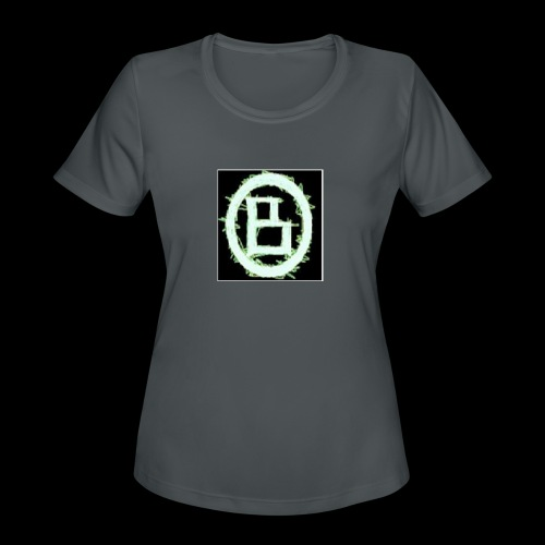 The BD Logo - Women's Moisture Wicking Performance T-Shirt
