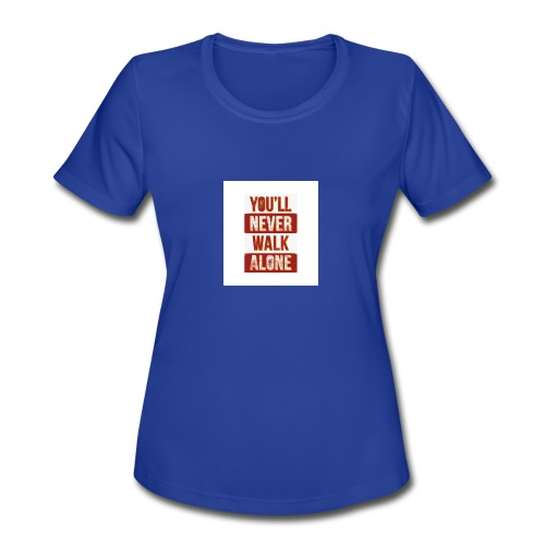 liverpool fc ynwa - Women's Moisture Wicking Performance T-Shirt