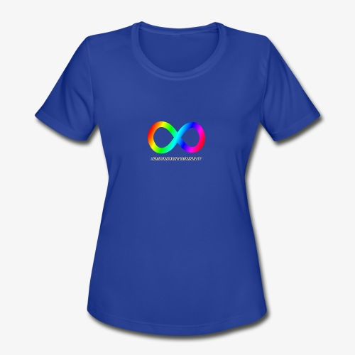 Neurodiversity - Women's Moisture Wicking Performance T-Shirt