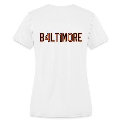 B4LT1M0RE - Women's Moisture Wicking Performance T-Shirt