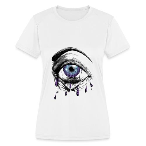 Lightning Tears - Women's Moisture Wicking Performance T-Shirt