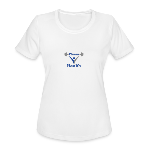 1TeamHealth Member - Women's Moisture Wicking Performance T-Shirt