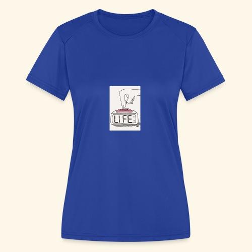 Mood - Women's Moisture Wicking Performance T-Shirt