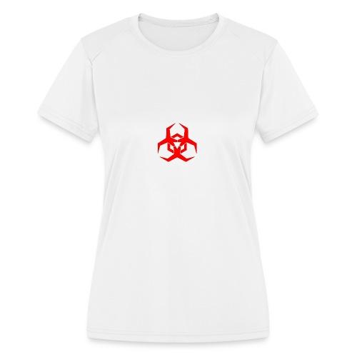 HazardMartyMerch - Women's Moisture Wicking Performance T-Shirt