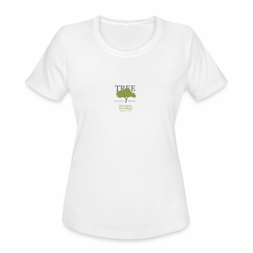 Tree Reading Swag - Women's Moisture Wicking Performance T-Shirt