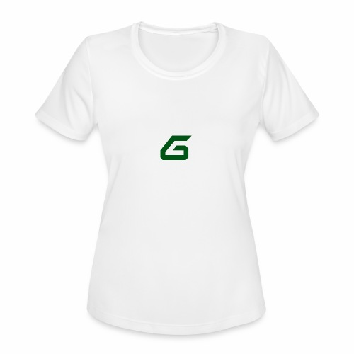 The New Era M/V Sweatshirt Logo - Green - Women's Moisture Wicking Performance T-Shirt