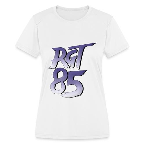 RGT 85 Logo - Women's Moisture Wicking Performance T-Shirt