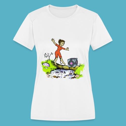 Testing Everywhere! - Women's Moisture Wicking Performance T-Shirt