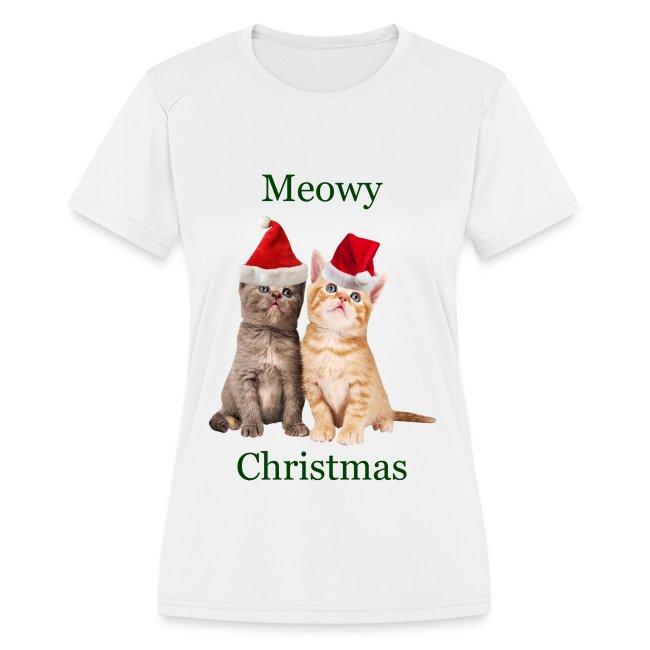 Cup Kitty Christmas Cat  Glitter  Sweatshirt//Longsleeved Tshirt    Sizes//Colors