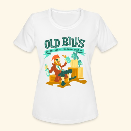 Old Bill's - Women's Moisture Wicking Performance T-Shirt