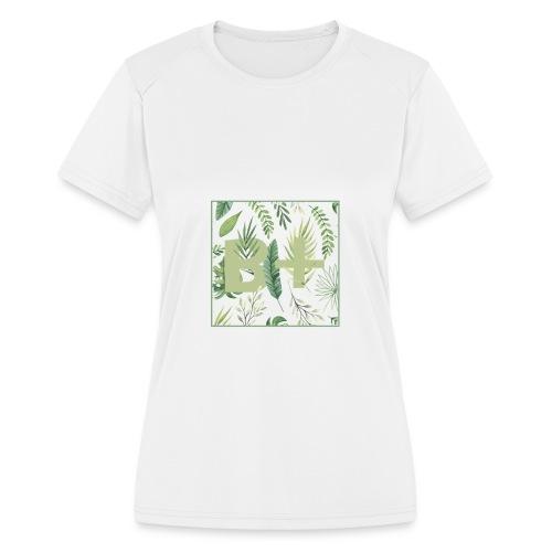 Be positive - Women's Moisture Wicking Performance T-Shirt