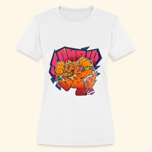 - Stomp Stomp Stomp - - Women's Moisture Wicking Performance T-Shirt