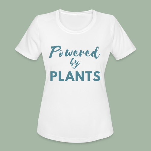 Powered by Plants - Women's Moisture Wicking Performance T-Shirt