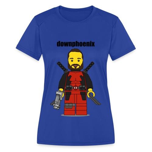 Downphoenix Shirt - Women's Moisture Wicking Performance T-Shirt