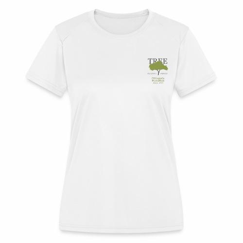 Tree Reading Swag - Women's Moisture Wicking Performance T-Shirt