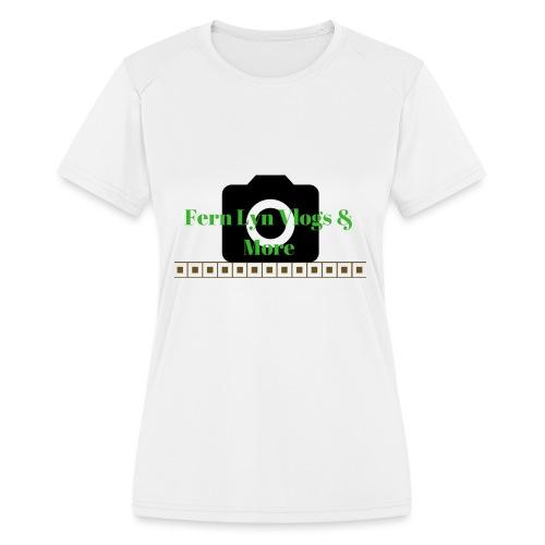 Fern Lyn Vlogs & More - Women's Moisture Wicking Performance T-Shirt