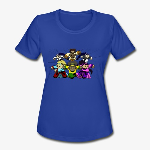 The Guardians of the Cloudgate, no logo - Women's Moisture Wicking Performance T-Shirt
