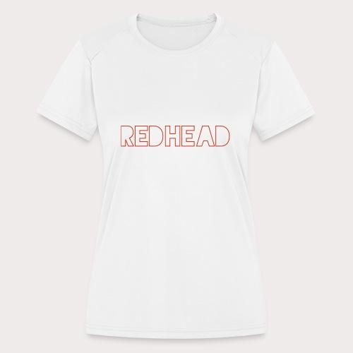 RH outline - Women's Moisture Wicking Performance T-Shirt